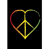Heart Peace Sign