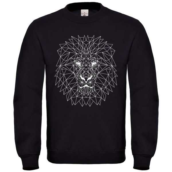 Poly Reggae Lion weiß